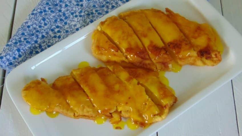 Receta de pollo al limón
