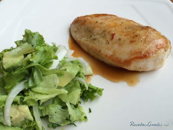 Exquisita Receta de pollo a la plancha