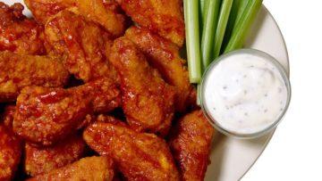 Receta de alitas de pollo