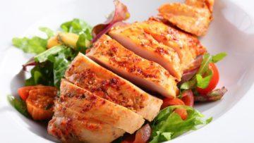 receta de pollo saludable