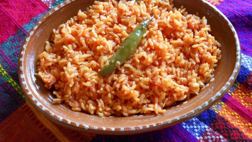 Receta de arroz rojo Arroz rojo