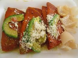 Receta de Enchiladas Huastecas
