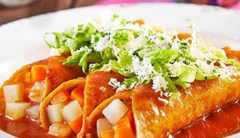 Receta de enchiladas michoacanas sencillas de hacer paso a for Tipos de encielados