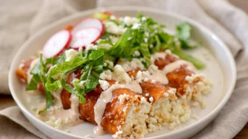 Receta de Enchiladas de QuesoReceta de Enchiladas de Queso