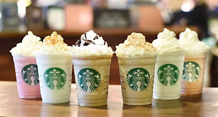 Receta de frappe Frappuccino de Starbucks