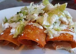 Receta de Enchiladas de Pollo Enchiladas Otra manera de emplatar