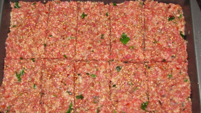 Receta de pastel de carne en molde