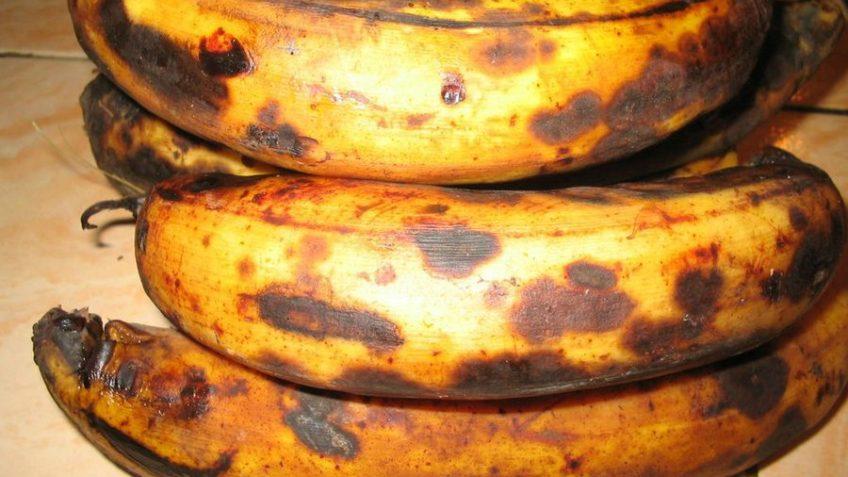 Receta de pastel de plátano Platanos maduros