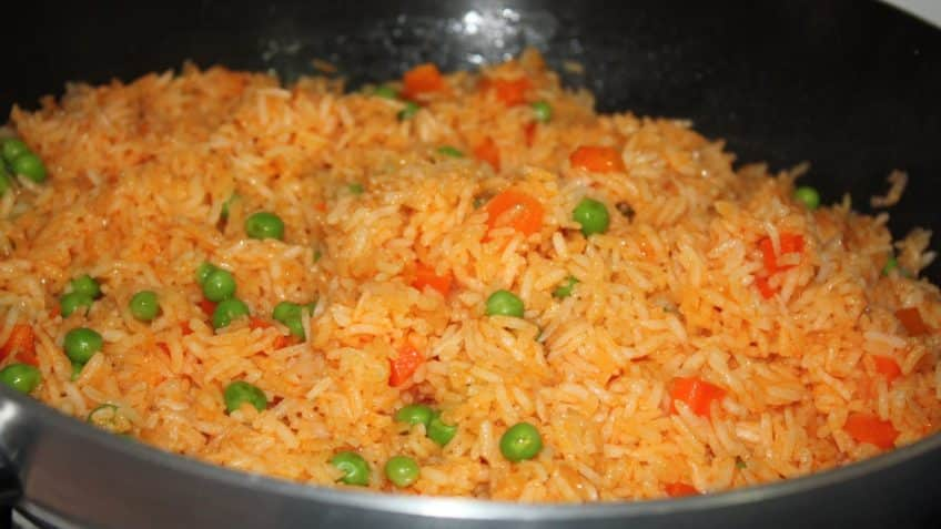 Receta de arroz rojo Prueba el arroz rojo