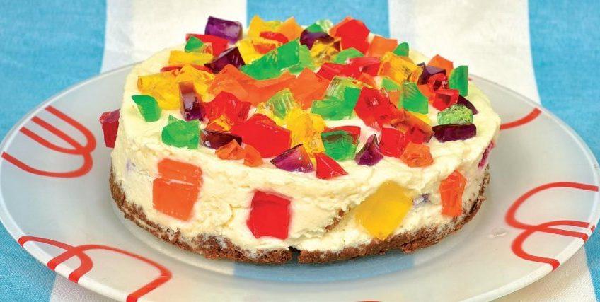 Receta de pastel de gelatina tart