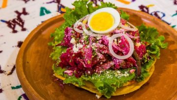 Receta Enchiladas Guatemaltecas con doble tortilla