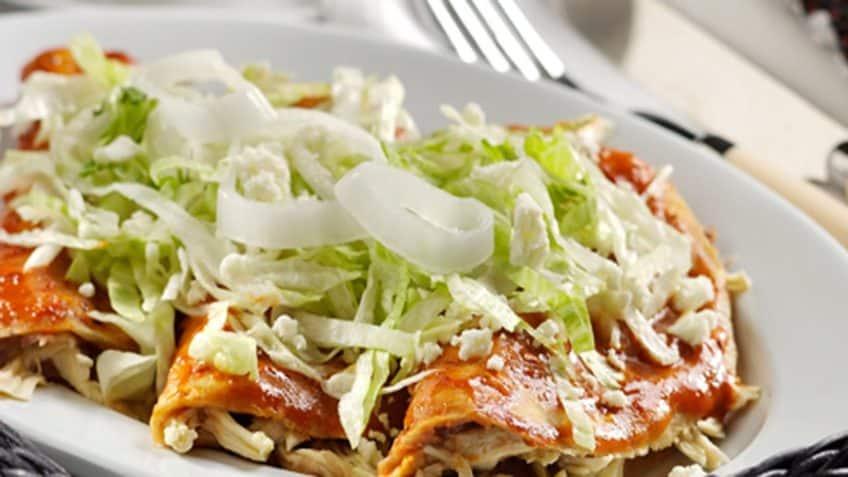 Receta Enchiladas queretanas