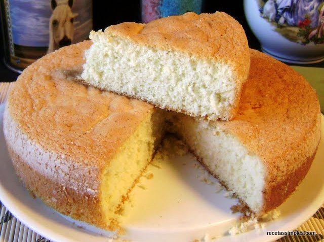 Receta de pastel de vainilla pastel de vainilla parte 2