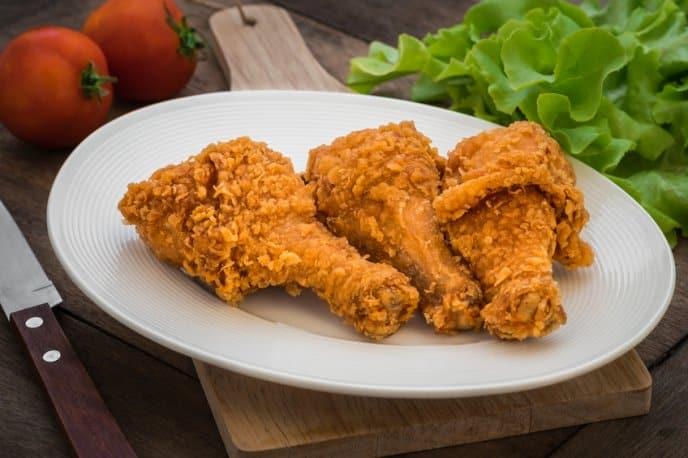 Receta de pollo empanizado