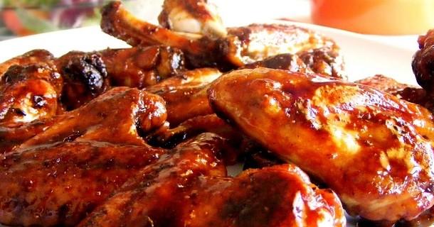 Receta de pollo en la barbacoa
