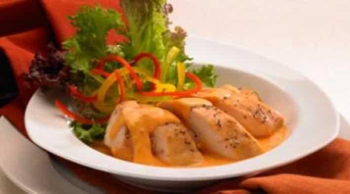 Receta de pollo con crema pollo