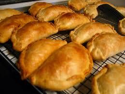 Receta de empanadas de pollo al horno