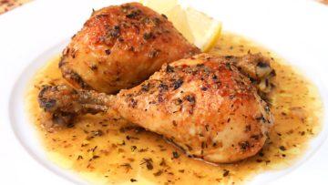 Receta de muslo de pollo