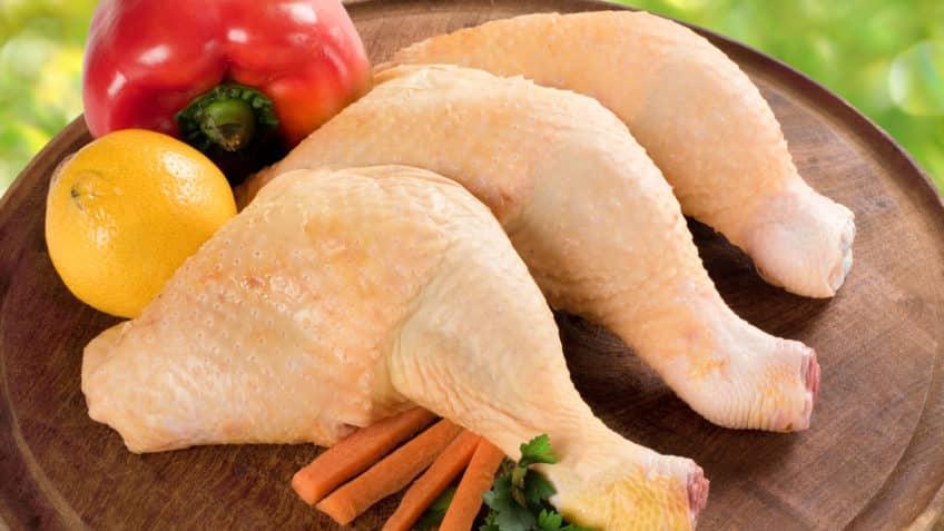Receta de muslo de pollo piezas