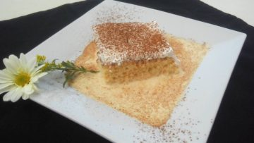 Receta de pastel de tres leches mexicano