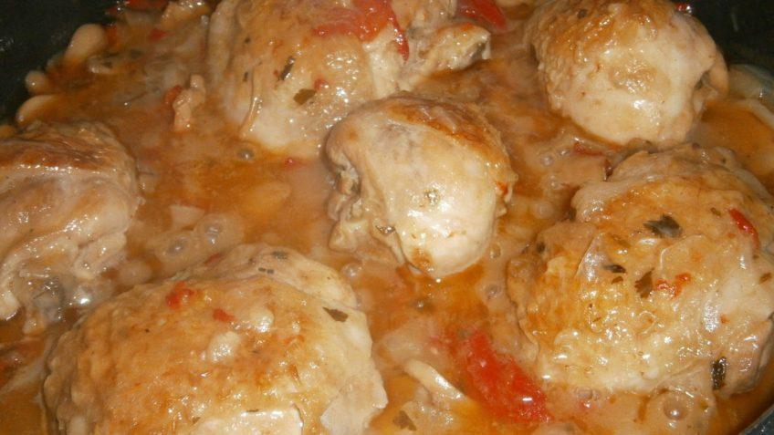 Receta de pollo a la cerveza preparación en salsa de cerveza