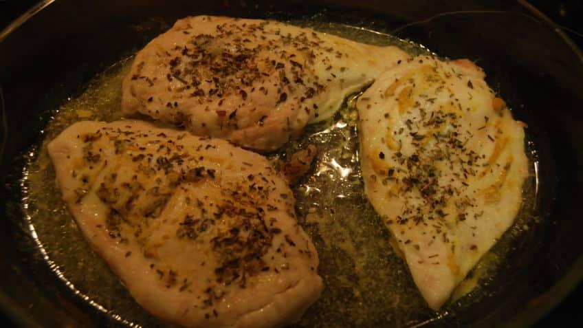 Gekkan Shoujo Nozaki-kun cocinar pechugas en marinado