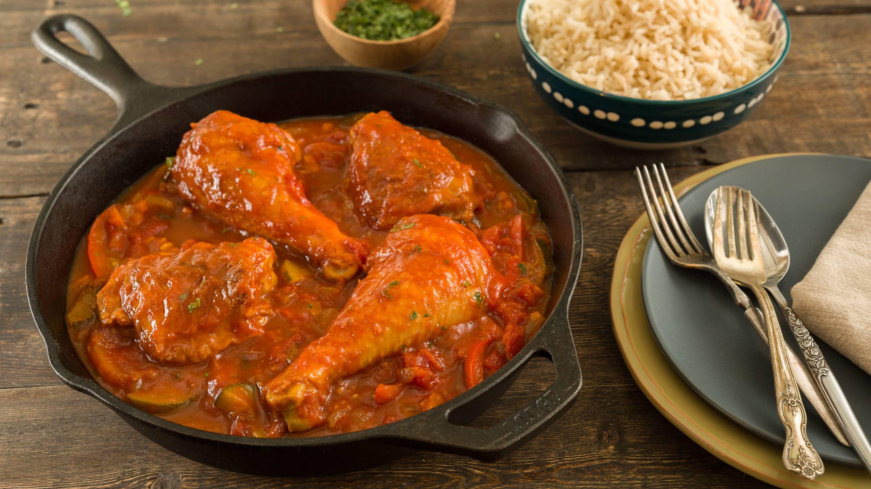 Receta de pollo guisado paso a paso - Como se hace pollo en salsa ...