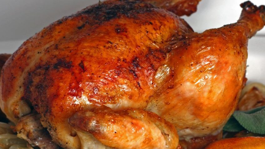 Receta de pollo horneado