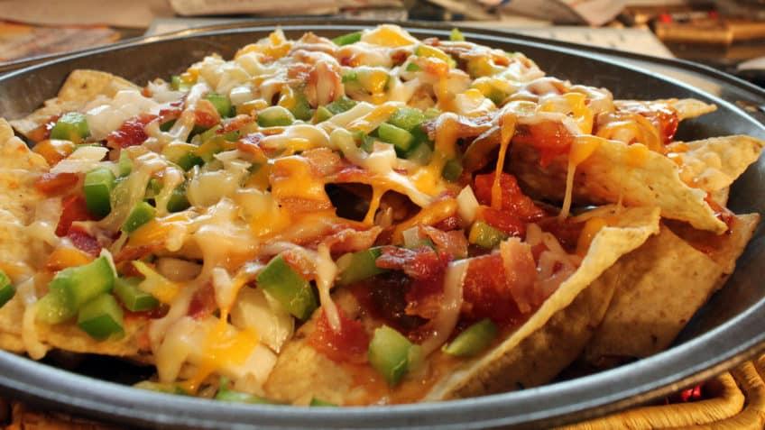 Receta de nachos Preparacion - ultimo paso