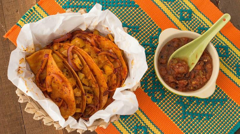 Receta de tacos de canasta Prueba los tacos de canasta