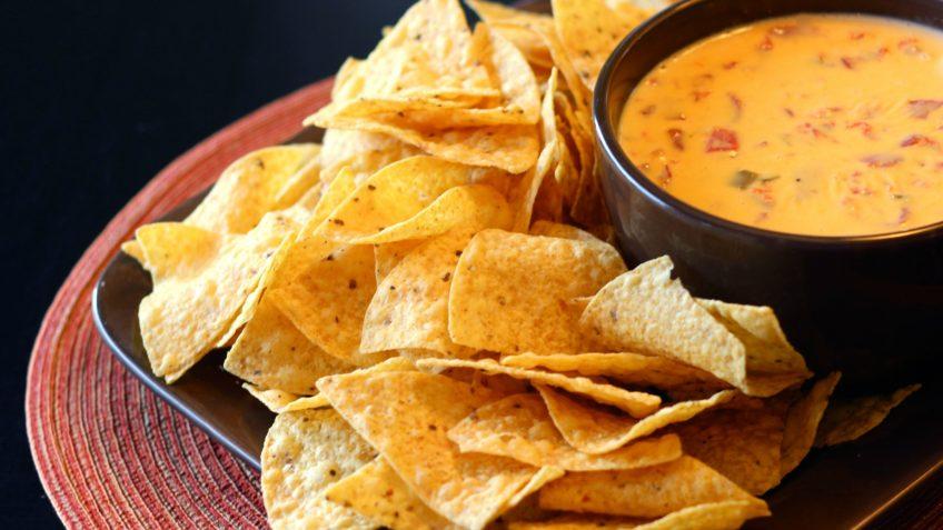 Receta de nachos