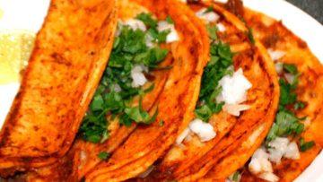 Recetas de taco de canasta tacos en fila