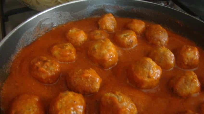 Receta de albóndigas en salsa1