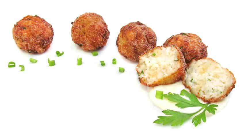 Receta de albondigas de pescado- Ingredientes