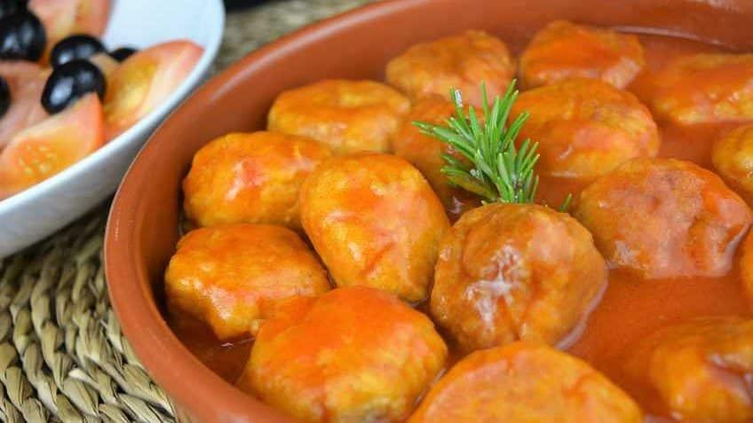 Receta de albondigas de pollo- Ingredientes