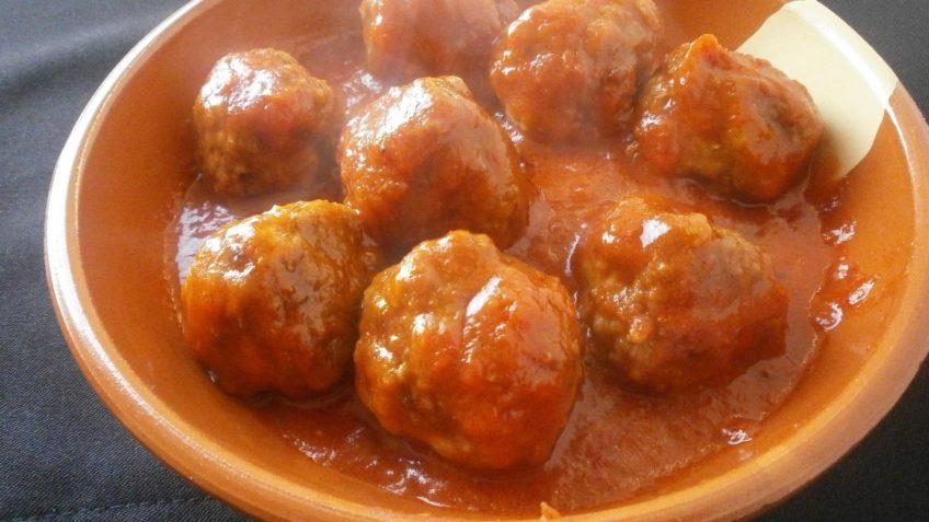 Receta de albondigas en chipotle- Ingredientes