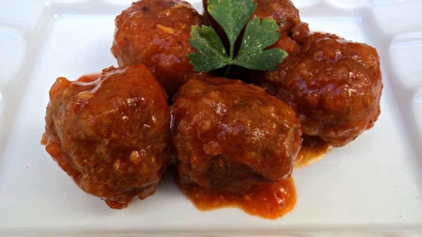 Receta de albondigas en salsa- Ingredientes