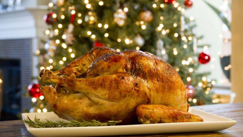 Receta de pavo navideño- Ingredientes