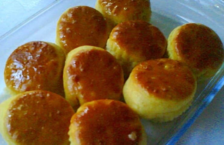 recta de bizcochos dulces