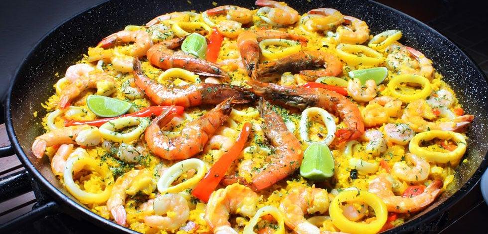 Receta de paella marinera casera y muy rica - Como cocinar paella ...