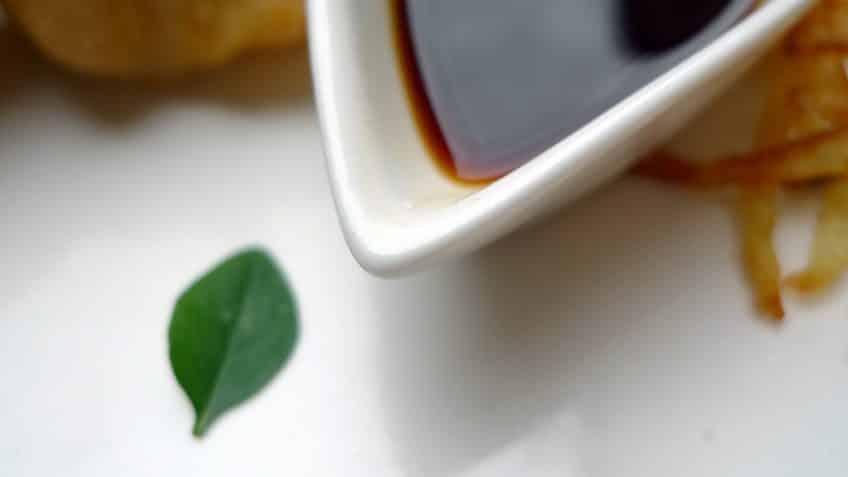 Salsa de teriyaki para platillos