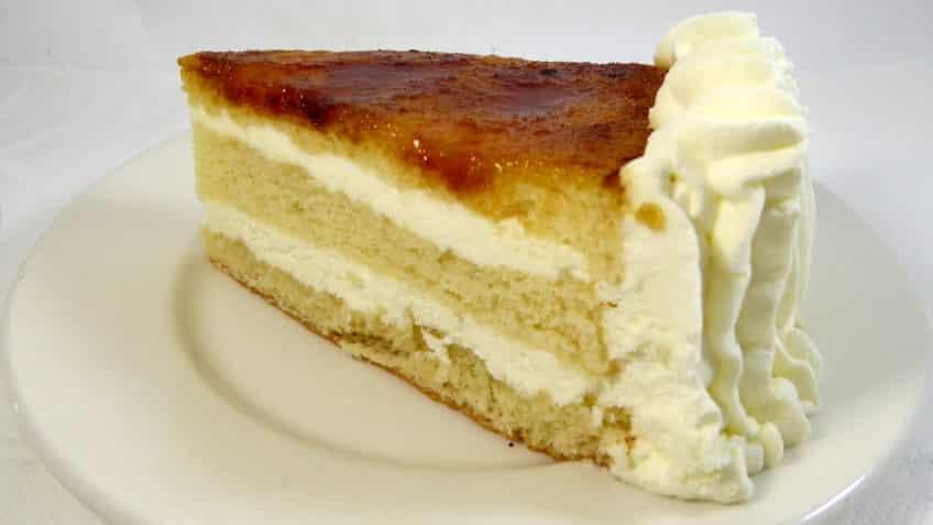 Receta de tarta san marcos