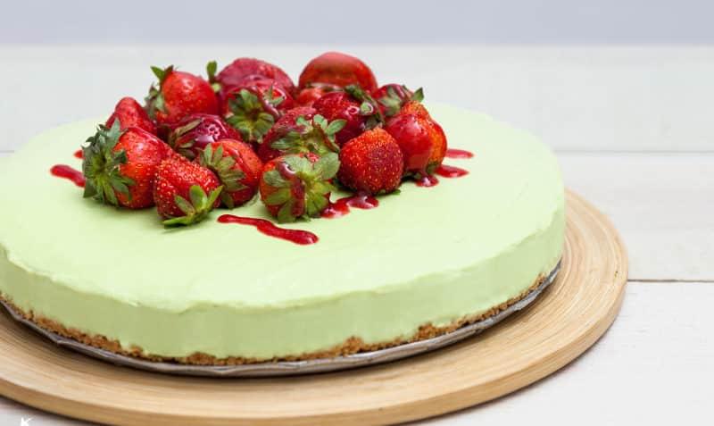 tarta de aguacate