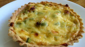 tarta de brocoli