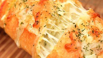 Pan con queso apetecible