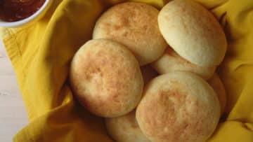 Pan de yuca casero