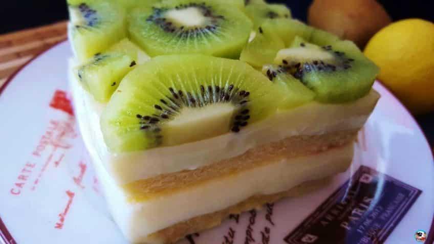Tarta de kiwi facil