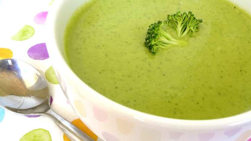 La crema de brocoli te hará amar los vegetales