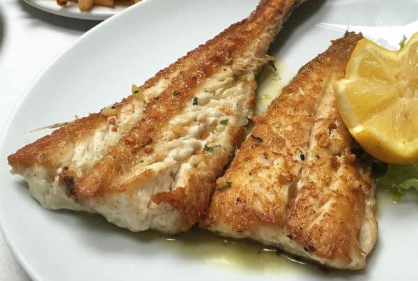 Merluza frita nutritiva y saludable