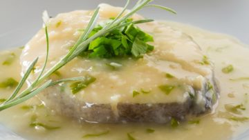 Receta merluza en salsa verde